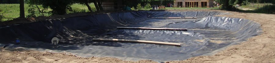 Specialising in all types of lining including landfill and garden ponds.